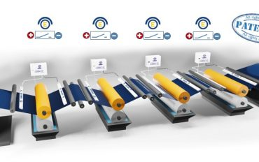 ENULEC's patented automatic charge change on the impression rollers